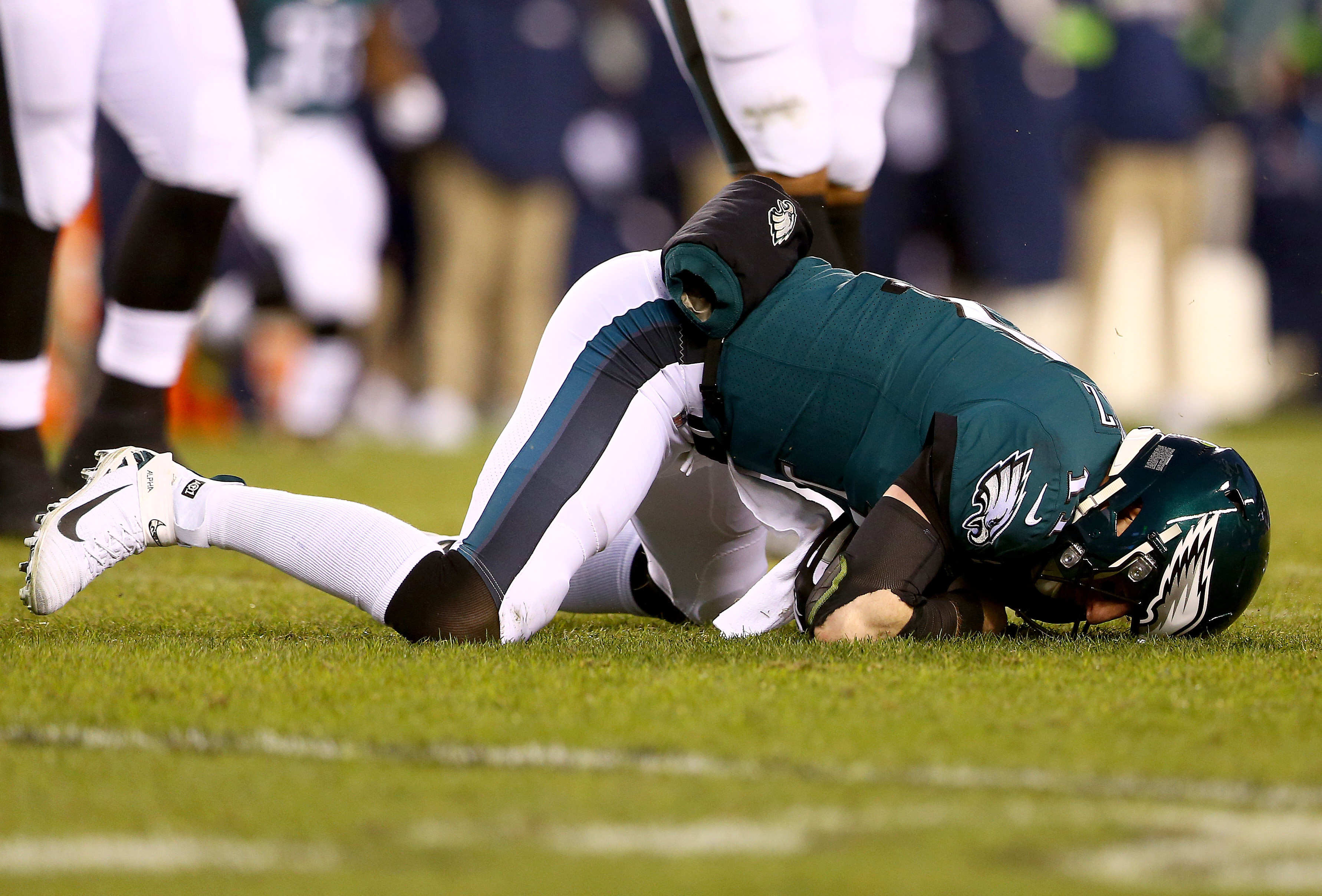 Eagles Wonder What If After Carson Wentz Knocked Out With Injury